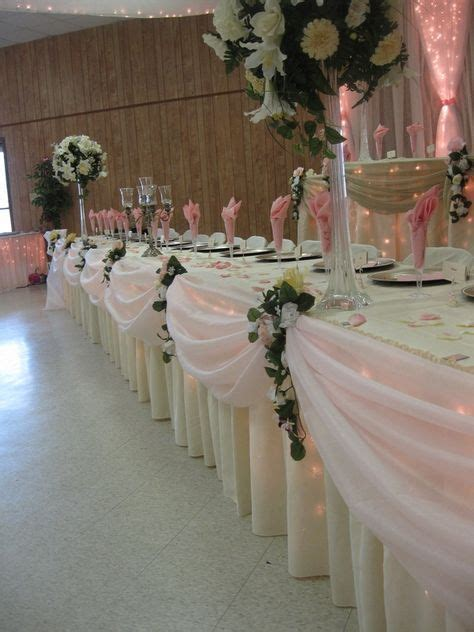 691 best images about receptions draping pinterest