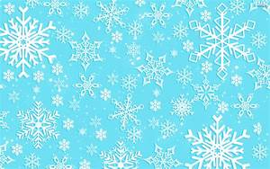 Light Blue Snowflake Background Wallpaper HQ Free Download ...