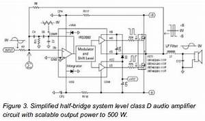 audio amplifier circuit page 26 audio circuits nextgr With class d amp circuit