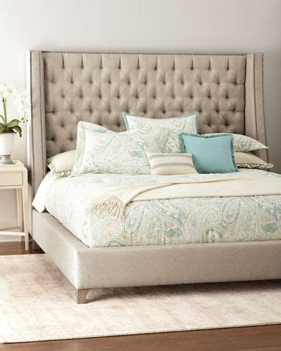 tufted bed king massoud tufted king bed 2959