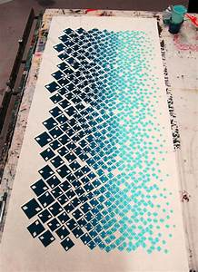 Fison-Zair: Work In Progress: Screen Printed Length