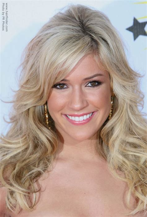 Blond Hairstyles by Kristin Cavallari S Hair With Layers And Curls