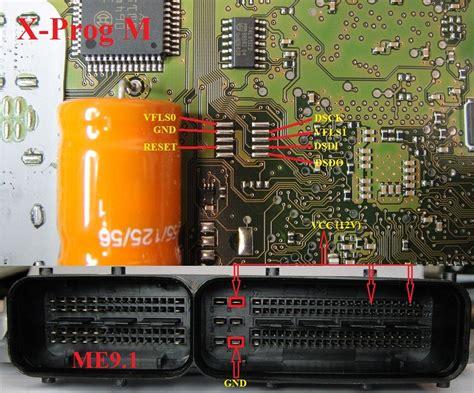Xprog-m Bdm Connection Pinouts Collection