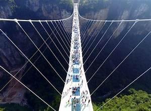 The world's longest pedestrian suspension bridge has ...