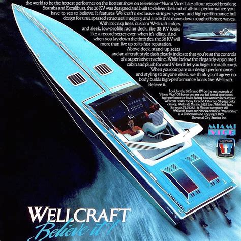 Miami Vice Wellcraft Scarab 38 by Wellcraft 38 Scarab Kv Quot Miami Vice Quot Editions Home Facebook