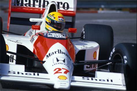 Ayrton Senna, McLaren MP4-5B Honda, Monaco 1990 Posters ...