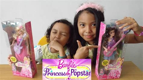 mainan boneka mattel mainan anak boneka the princess and the popstar