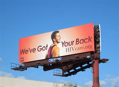 daily billboard weve    hiv care billboards