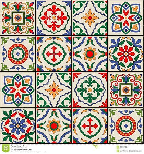 Herrliches Nahtloses Muster Marokkanische, Portugiesische