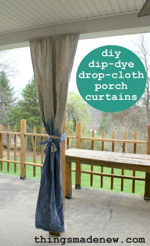 1000 images about drop cloth window treatments on