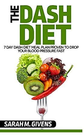 High Blood Pressure Diet: 7 Day Dash Diet Meal Plan To