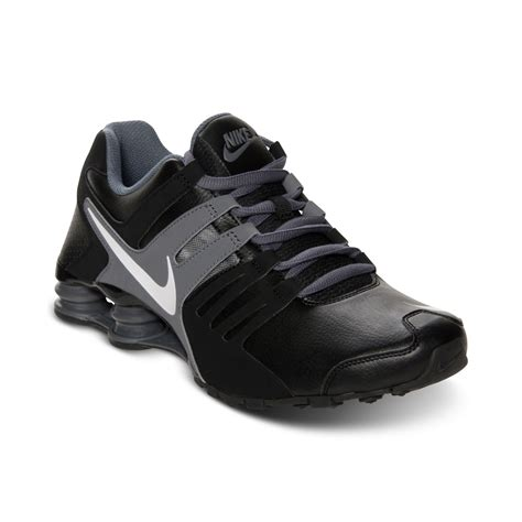 nike shox 02 lyst nike mens shox current running sneakers from finish