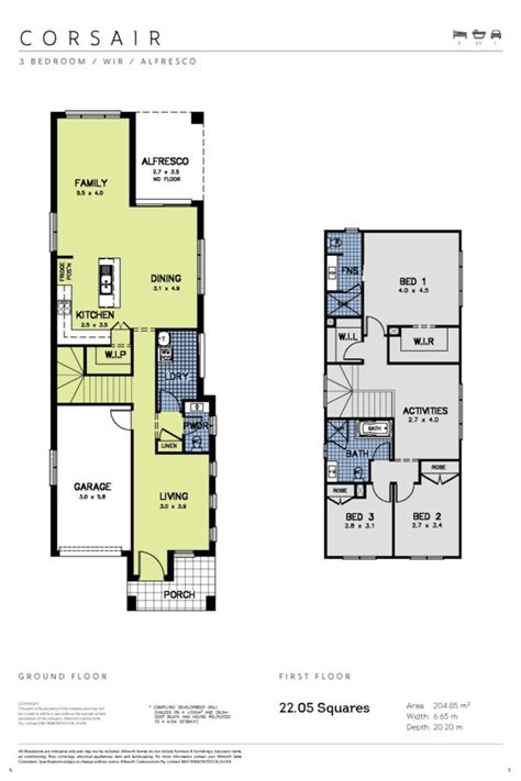 capri allworth homes capri single storey suit wide blocks