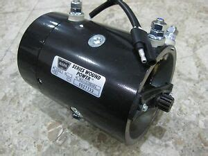 genuine warn 64635 new replacement 12 volt electric winch motor 9 5ti 9 5cti ebay