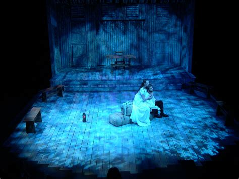 sunlight l for sad the crucible henderson state university stage lighting