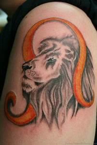 47 Cool Leo Tattoos On Shoulder