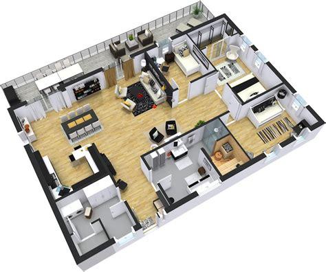 six bedroom house plans modern floor plans roomsketcher
