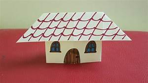 Comment Faire Une Maison : comment faire une maison en papier youtube ~ Dallasstarsshop.com Idées de Décoration
