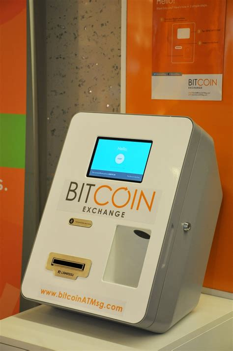 A singaporean company issued a bitcoin vending machine. News — Bitcoin Exchange Singapore