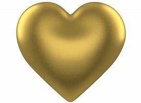 Image result for golden heart clipart