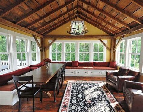 pictures of 4 season rooms making a true sunroom with a split air conditioner