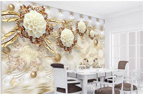 arkadi  wall panel wallpaper marble diamond jewelry rose