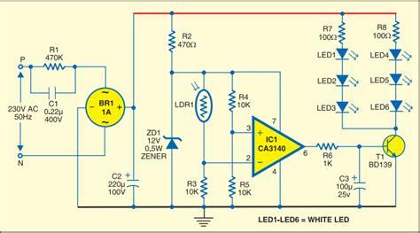Strip Led Lamp Fast Diagrams
