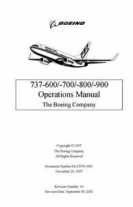 Boeing 737-600  700  800  900 Operations Manual 1997