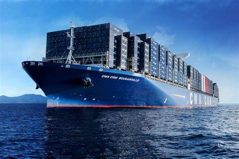 la cma cgm s offre le plus gros porte conteneur du monde histoire g 233 o