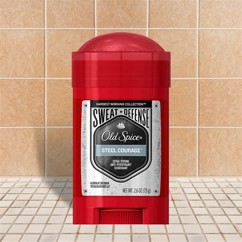 steel courage hwc sweat defense soft solid old spice