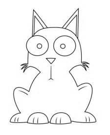 Cartoon Cat Drawings