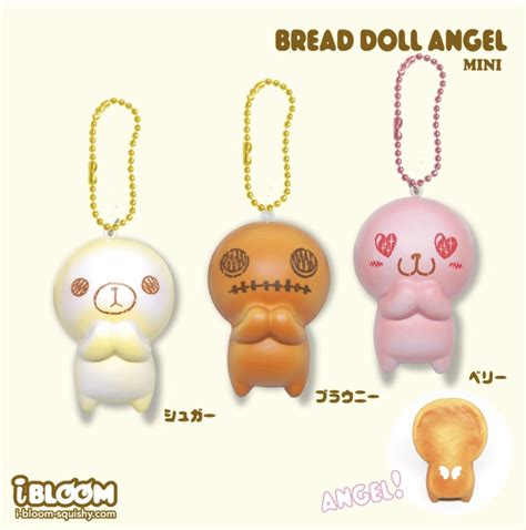 new mini ibloom bread doll squishy