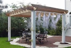 o39fresh brumisateur terrasse ventilateur brumisateur With idees de terrasse exterieur
