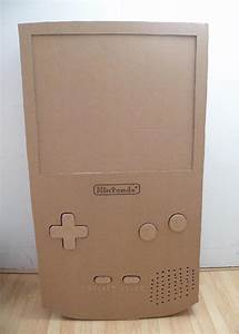Giant Cardboard Nintendo Gameboy
