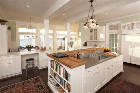 kitchen island spacing add more space in your kitchen with kitchen islands boshdesigns com