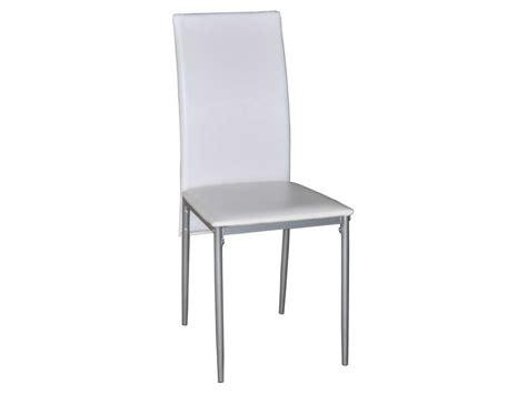 chaise coloris blanc vente de chaise conforama