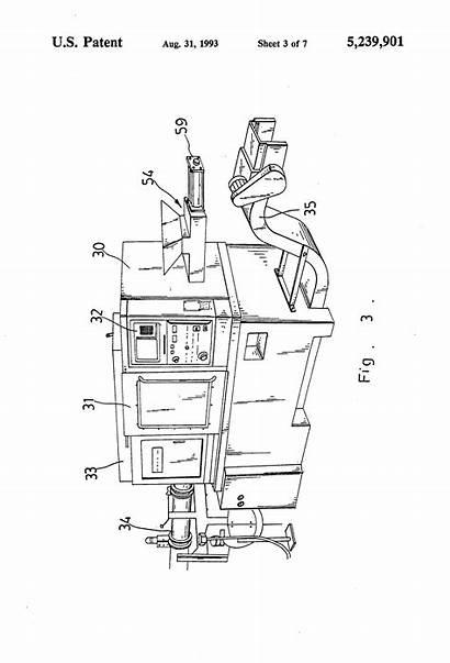 Lathe Drawing Patent Patents Cnc