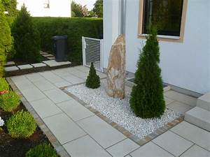 Kies Vorgarten Anlegen : gartengestaltung mit kies und steinen ~ Markanthonyermac.com Haus und Dekorationen