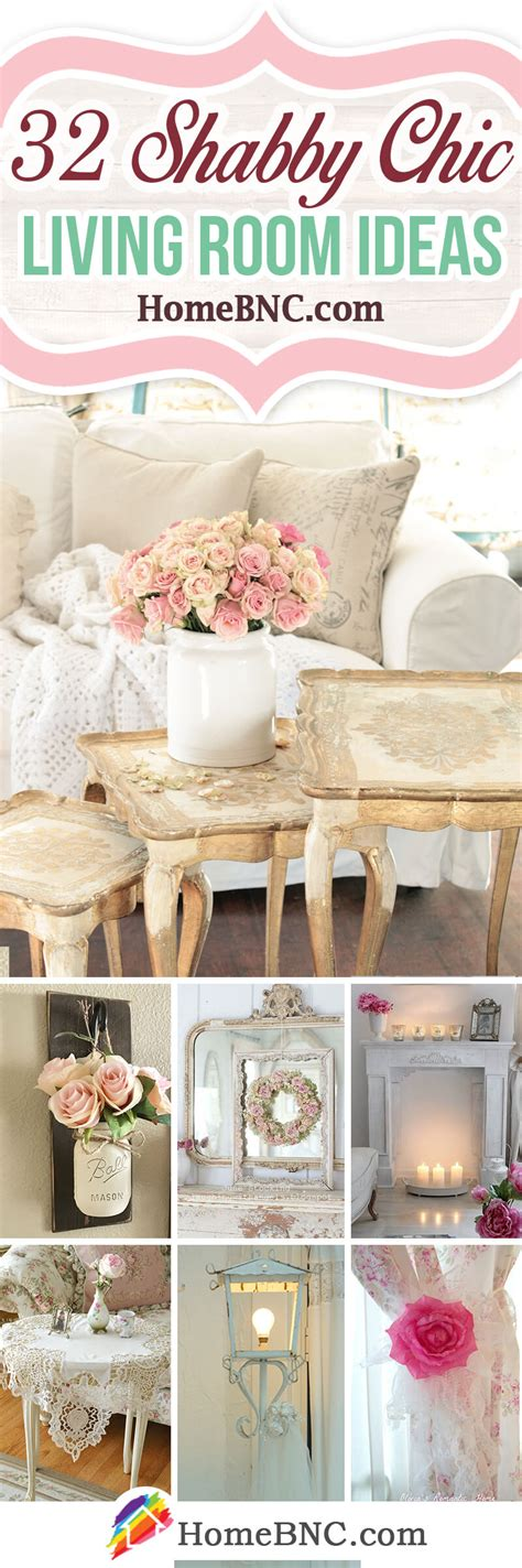 Decorating Ideas For Living Rooms Shabby Chic by 32 Best Shabby Chic Living Room Decor Ideas And Designs