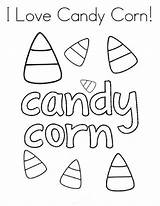 Corn Candy Coloring Halloween Pages Sheet Worksheets Twistynoodle Noodle Twisty Mini Books Artificial sketch template