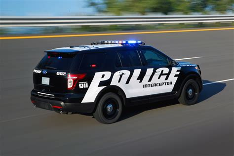 Ford With New Bold Crime Fighter Ford Police Interceptor