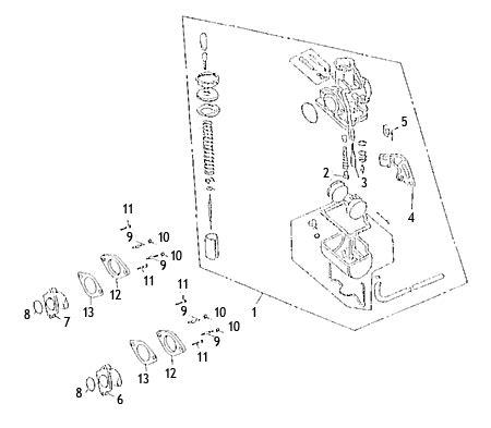 Carburetor (kasea Skyhawk 250 Quad