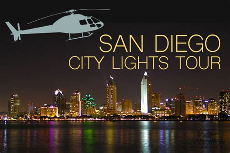 new san diego city lights tour corporate helicopters
