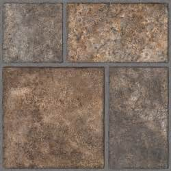 trafficmaster yukon brown resilient vinyl tile flooring 4 in x 4 in take home sle