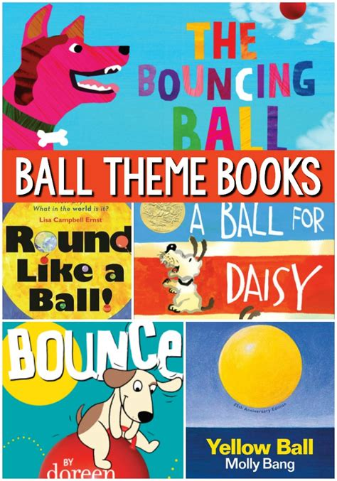 theme books for preschool pre k pages 492 | Ball Theme Books for Preschool