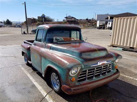 custom truck sales patina 1956 chevrolet pickups stepside 3100 custom for sale
