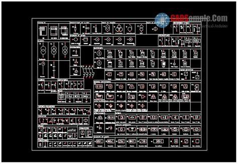 result for autocad symbols for electrical circuits autocad electrical symbols autocad