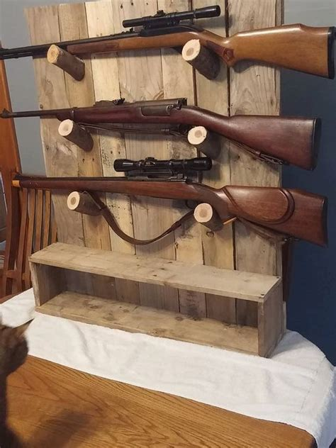 pallet wood gun cabinet plans rustic gun rack gun display gun racks guns and offices