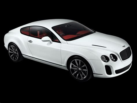 bentley sports 2010 bentley continental supersports front and side