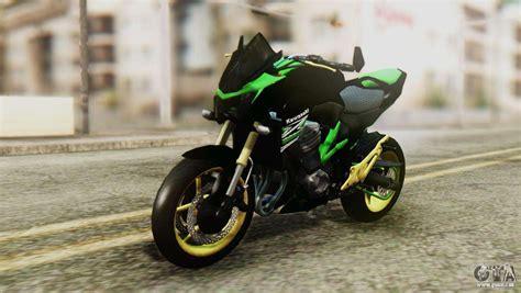 Modification Kawasaki Z800 by Kawasaki Z800 Modified Pour Gta San Andreas
